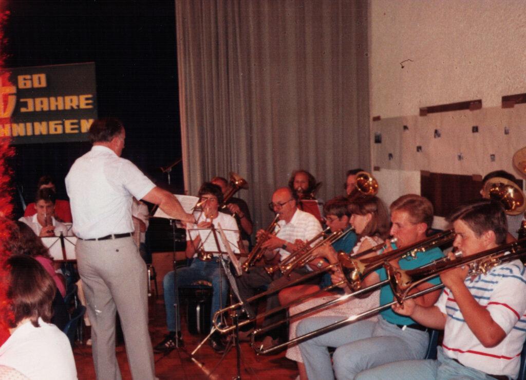 Posaunenchor Ehningen 1983